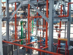 Chemical Plant Piping completed