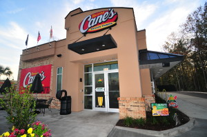 Raising Canes restaurant in Summerville, SC