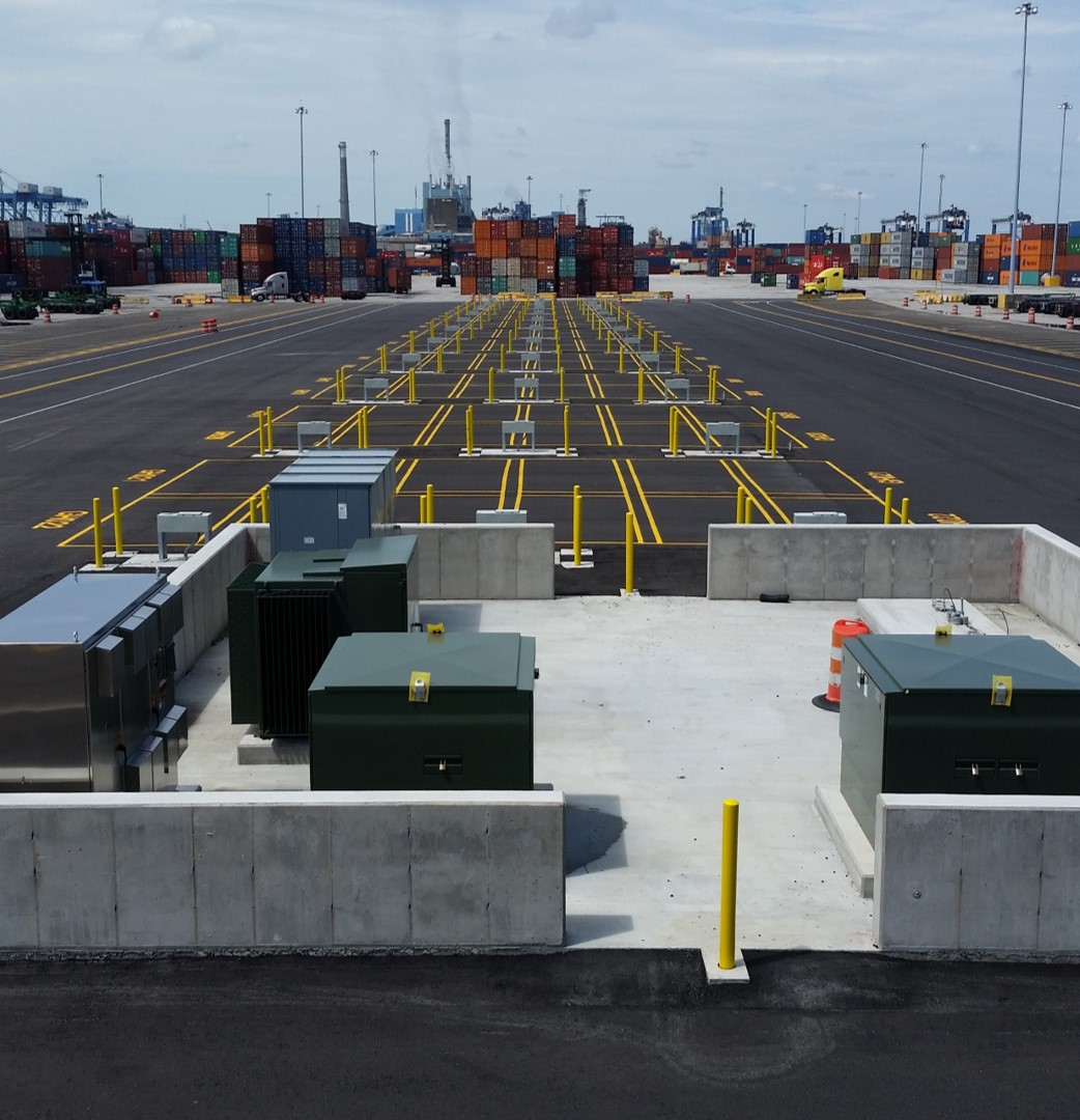 Reefer Container Yard